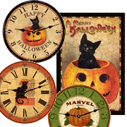 all-halloween-clocks