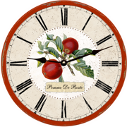 apple-wall-clock