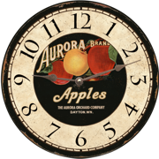 apples-wall-clock