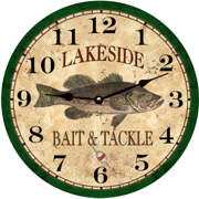 fishing-bass-clock
