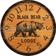 black-bear-clock