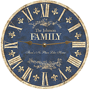 blue-family-clock