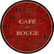 cafe-french-country-wall-clock