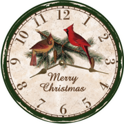 christmas-wall-clock
