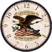 eagle-wall-clock