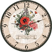 unique-wall-clock-bouquet