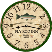 flyrod-fisherman-perch-clock