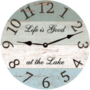 four-color-lake-clock