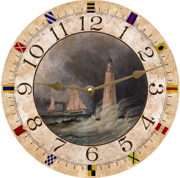 lighthouse-clock