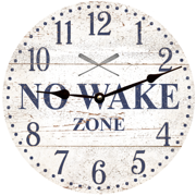 no-wake-zone-clock