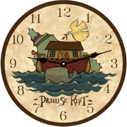 primitive-clock-noah's-ark