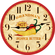 pepper-clock