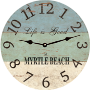 personalized-beach-clock