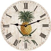 pineapple-personalized-wall-clock