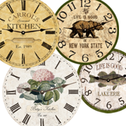 personalized-wall-clock
