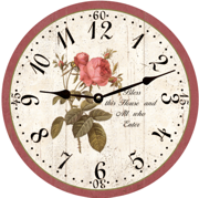 christian-clock-rose-clock
