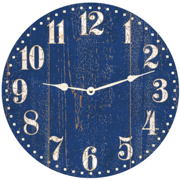 rustic-blue-clock