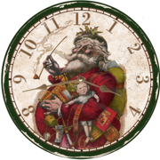 christmas-wall-clocks-santa-clock