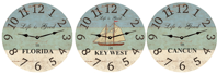 vacation-personalized-cottage-clock