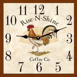 coffee-wall-clock