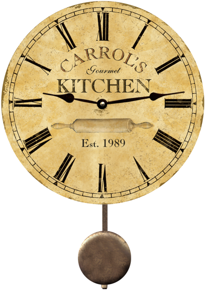 Personalized Kitchen Clock