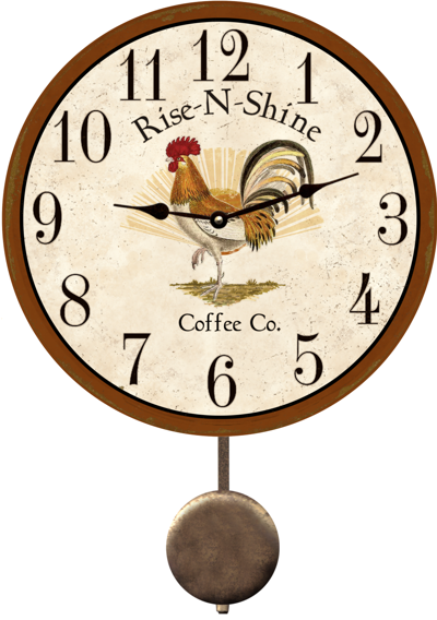 rooster-kitchen-clock