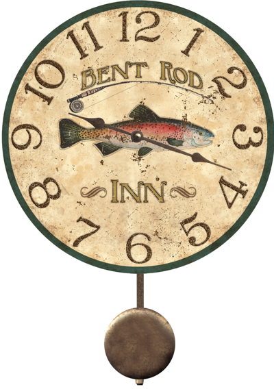 trout-clock